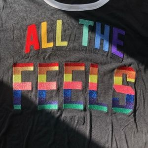 ALL THE FEELS PINK t-shirt